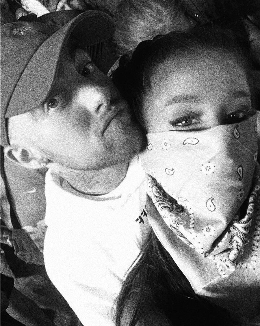 Ariana Grande and Mac Miller