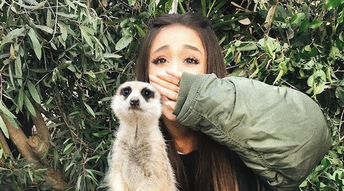 Ariana Grande S Cutest Photoshoot Was At The Zoo Umusic