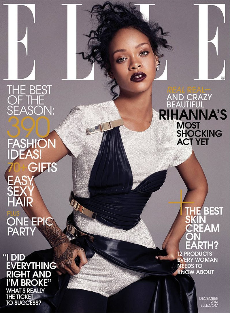 Photo: Rihanna 2014 Elle Cover