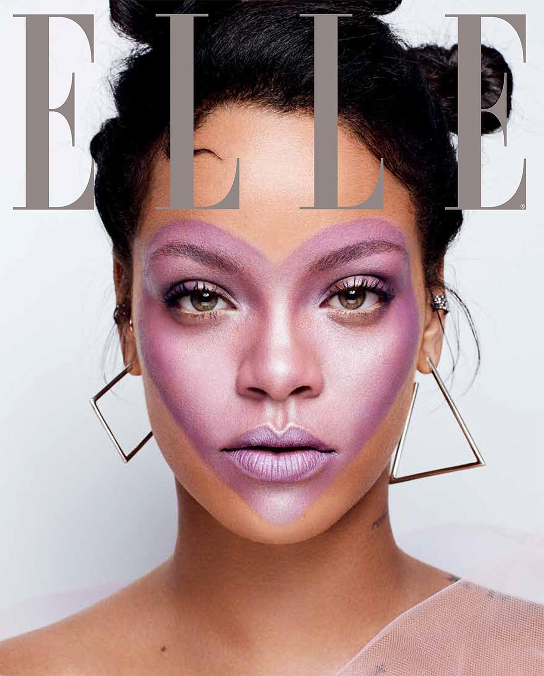 Photo: Rihanna 2017 Elle Cover
