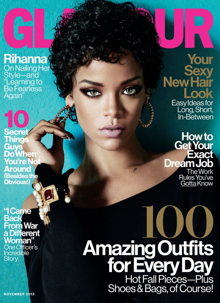 Photo: Rihanna 2013 Glamour Cover