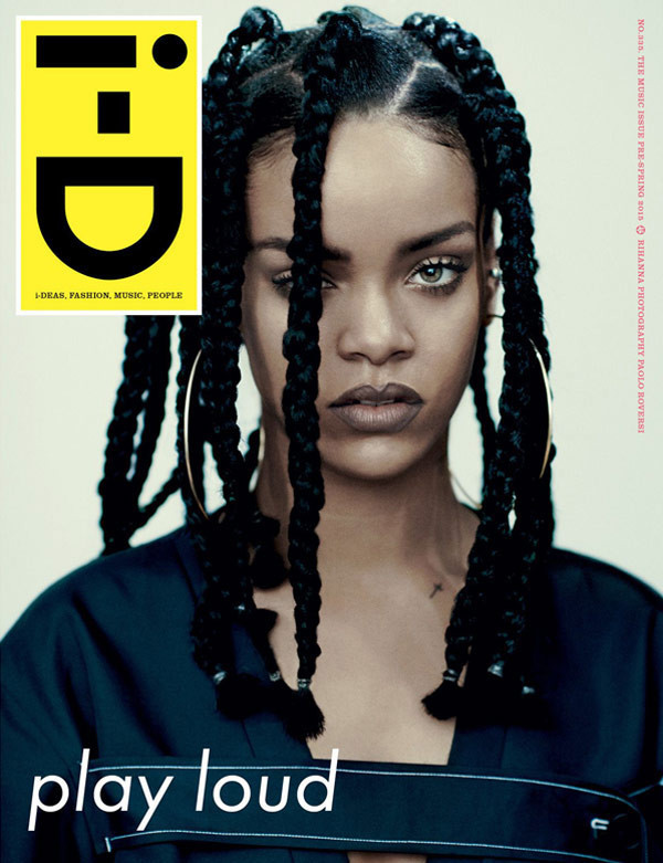 Photo: Rihanna I-D 2015 Cover