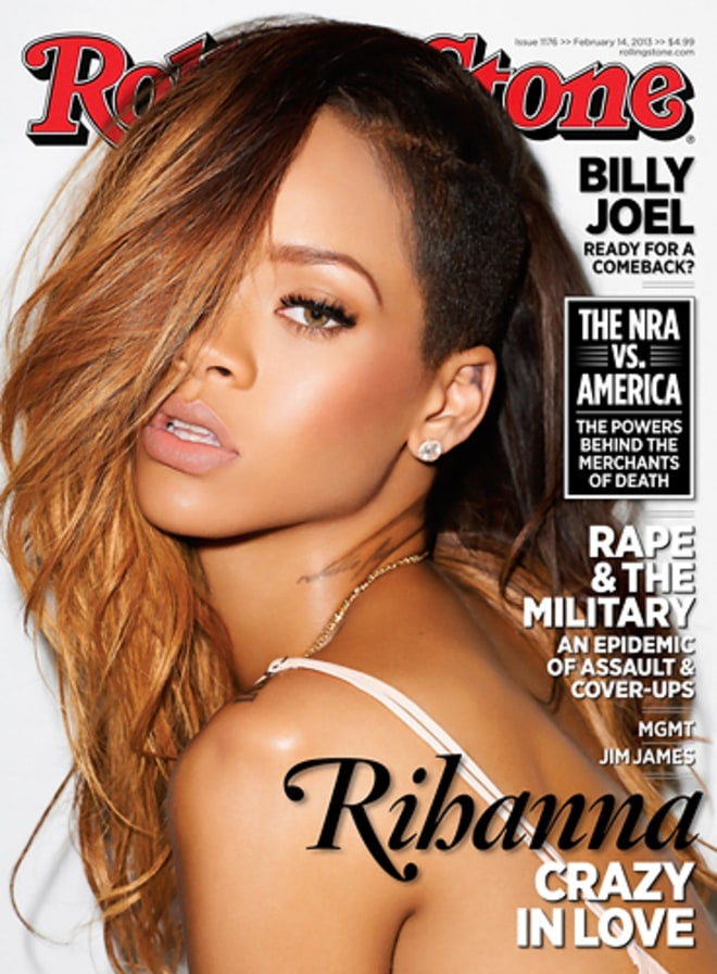 Photo: Rihanna Rolling Stones 2011 Cover