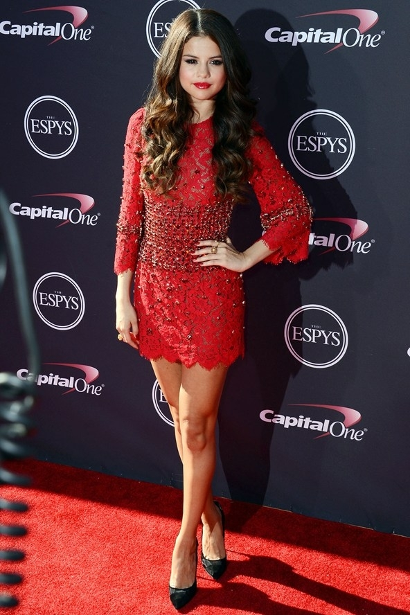Photo: Selena Gomez at the ESPYS