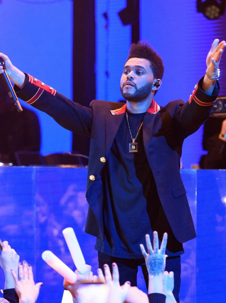 Photo: The Weeknd, New Years Eve