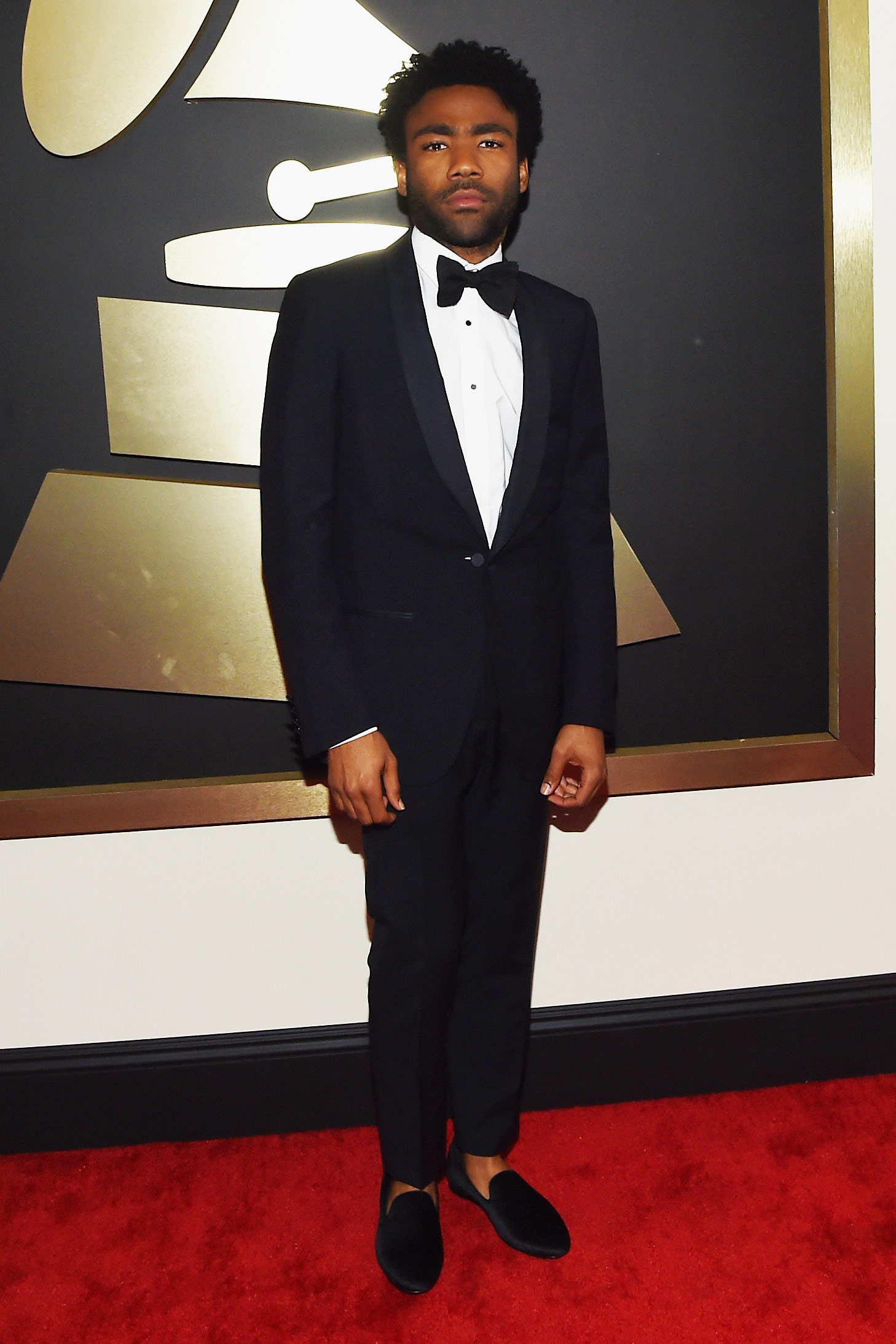 Photo of Childish Gambino at the Grammys
