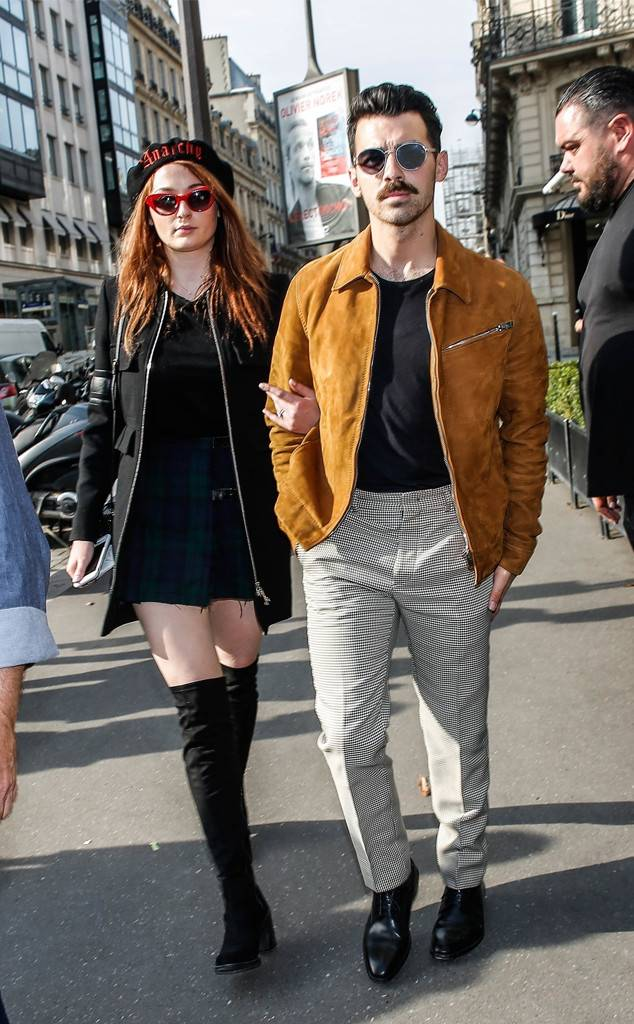 Photo of Joe and Sophie in Paris