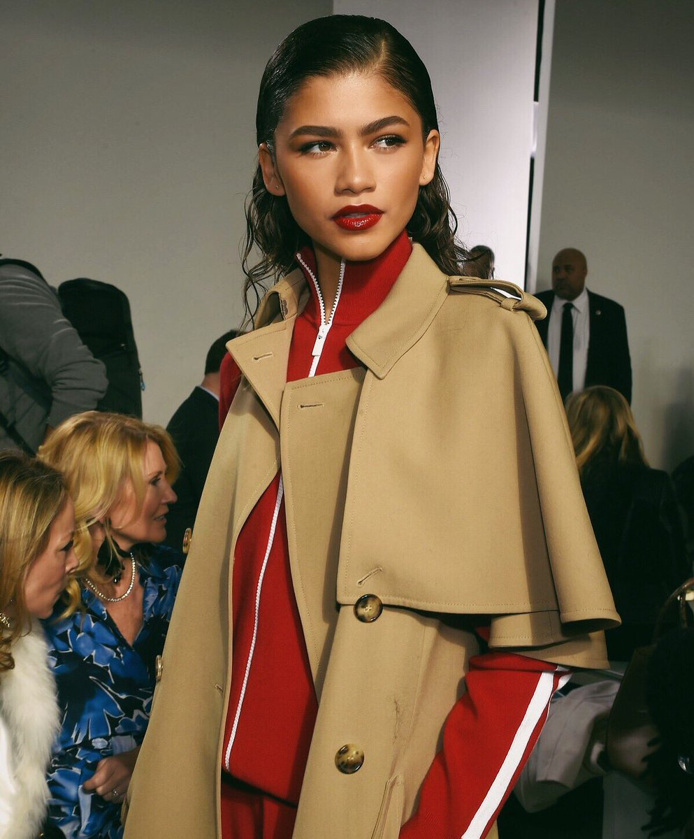 Photo of Zendaya at New York Fashion Week