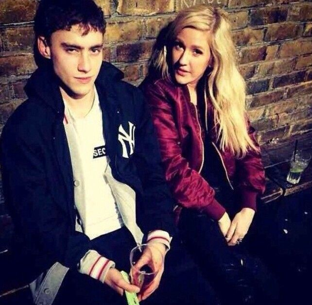 PHOTO: Olly Alexander and Ellie Goulding