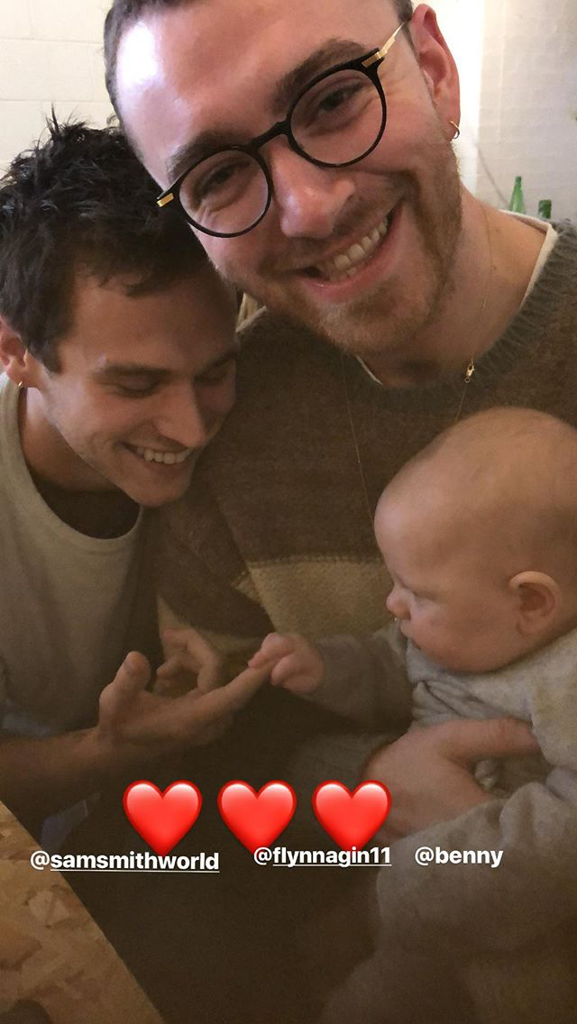 PHOTO: Sam Smith and Brandon Flynn