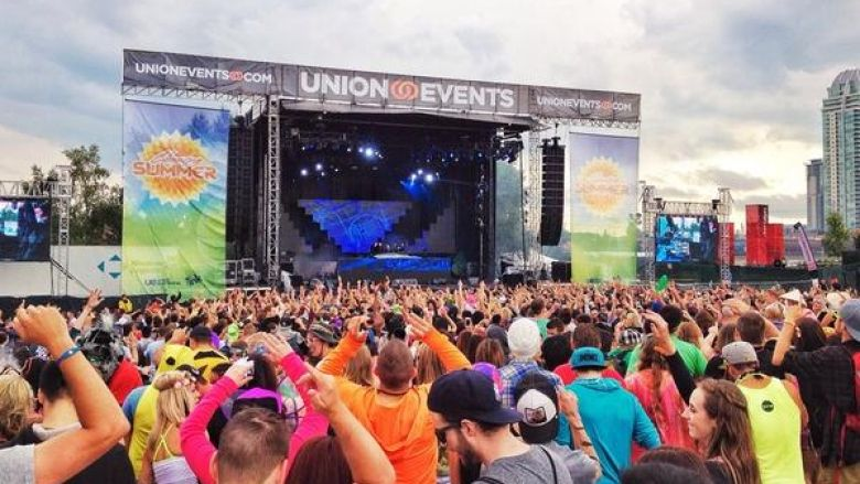 PHOTO: Crowd at Chasing Summer Music Festival
