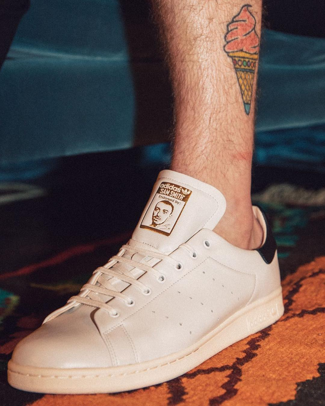 PHOTO: Sam Smith Custom Adidas