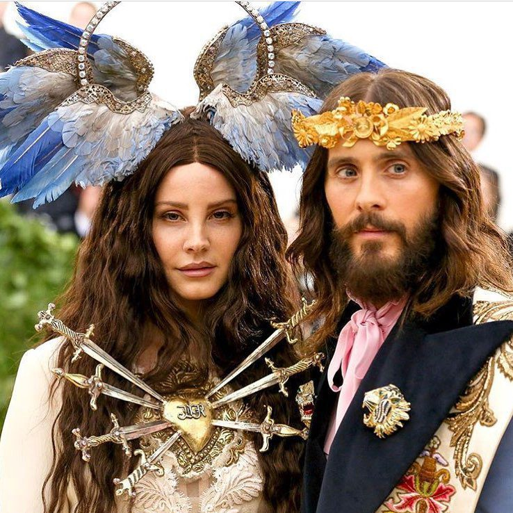 Lana Del Rey Jared Leto Met Ball 2018 Umusic