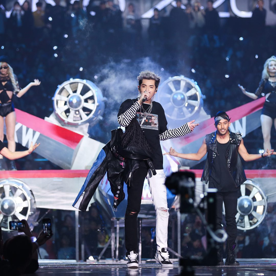 Photo: Kris Wu performing