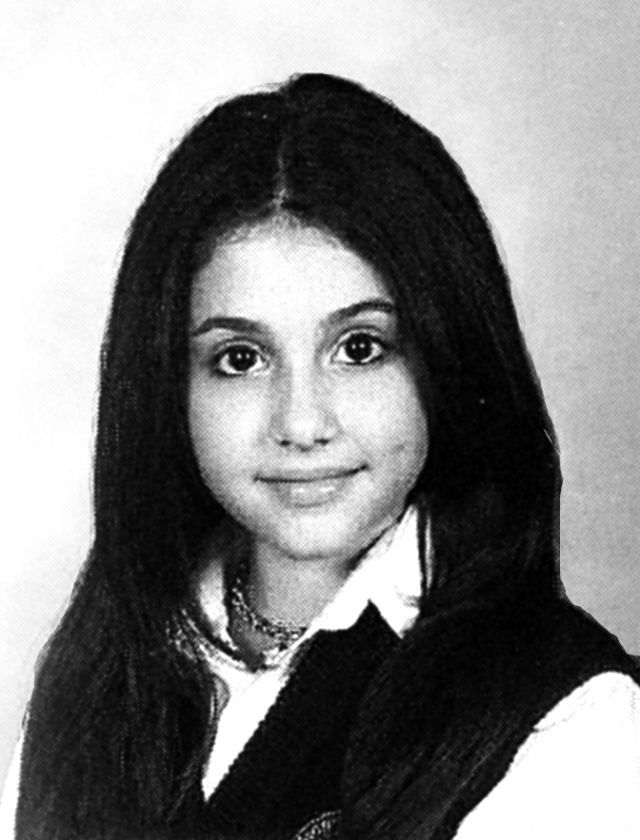 Photo: Ariana Grande yearbook
