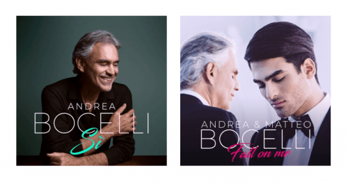 ANDREA BOCELLI ENLISTS STELLAR DUET PARTNERS FOR HIS NEW ...