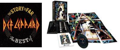DEF LEPPARD'S NEW ALBUM, THE STORY SO FAR: THE BEST OF, IS