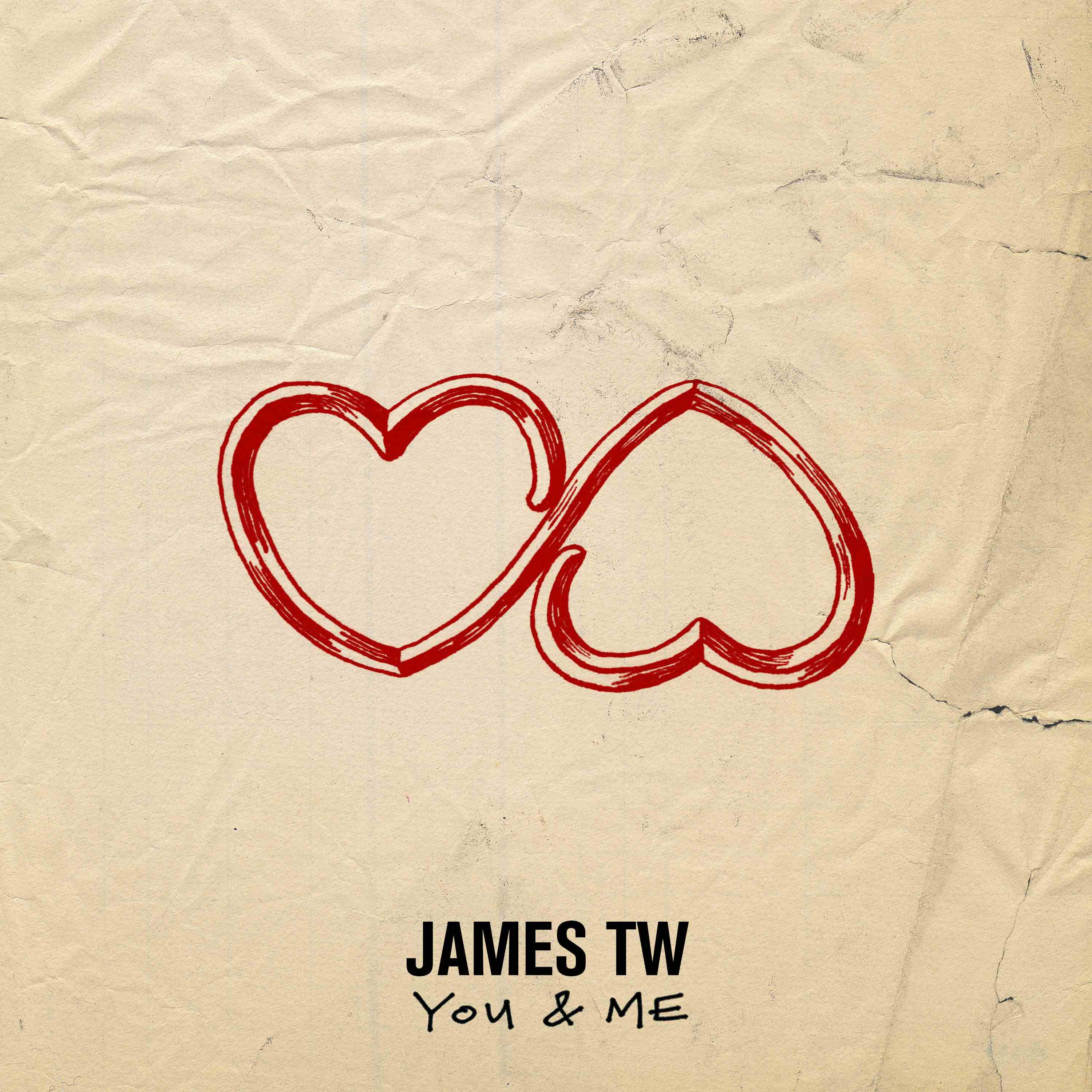 """JAMES TW RELEASES NEW TRACK + VIDEO FOR """"YOU & ME"""" FROM THE UPCOMING"""
