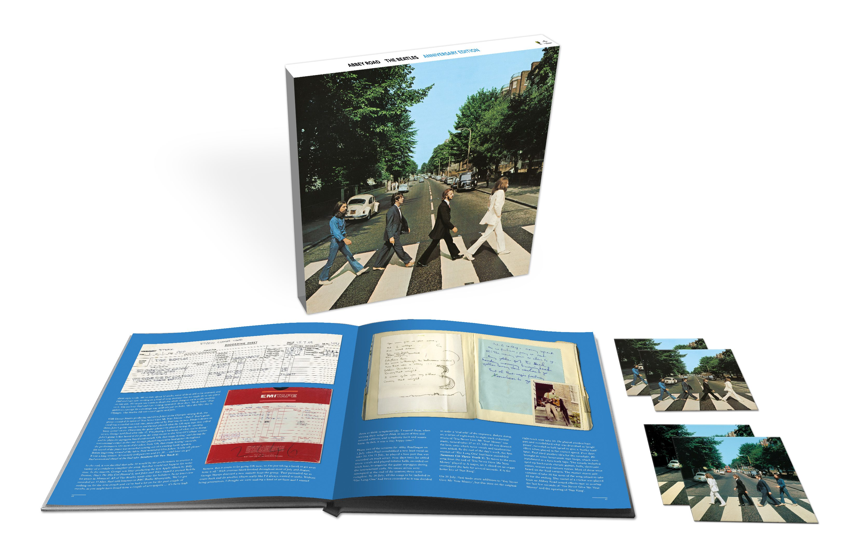 THE BEATLES REVISIT, ABBEY ROAD, WITH SPECIAL 50TH